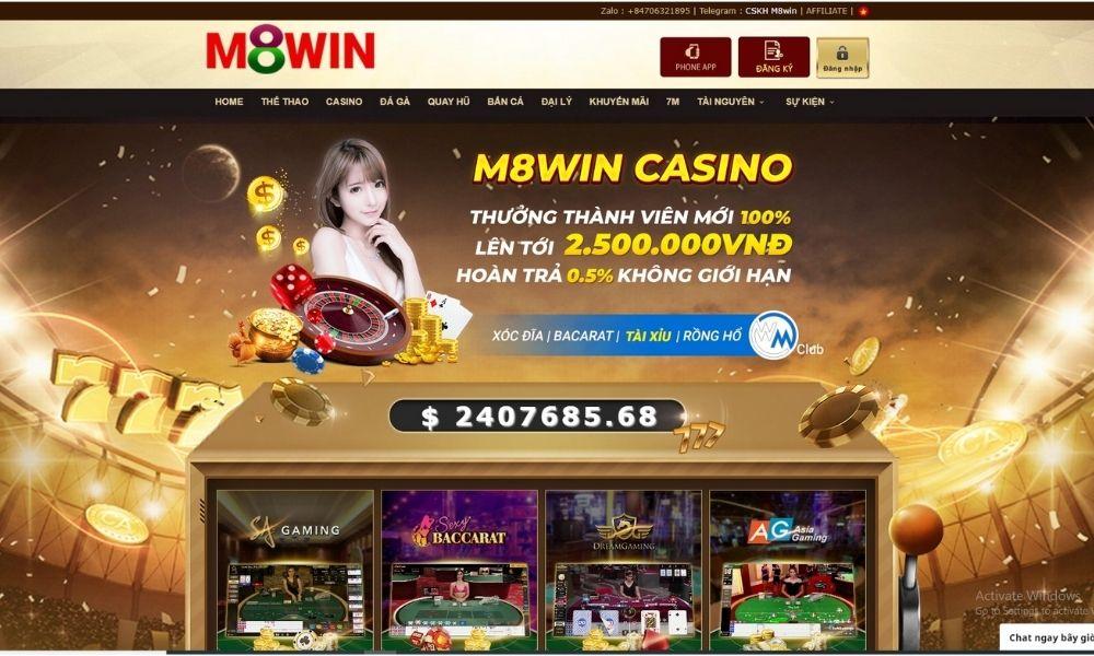 Hướng dẫn tham gia cá cược tại M8win